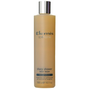 Elemis Spa Home Sharp Shower Body Wash, Body Performance, 10.1 Fluid Ounce