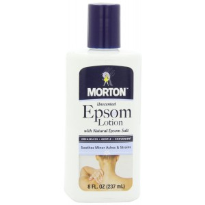 Morton Epsom Lotion, 8 Ounce
