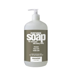 Everyone Bath Soap, Unscented, 32 Ounce