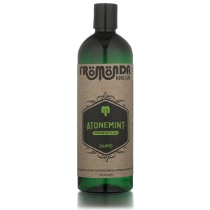 AtoneMint Shampoo for Men 16oz - Organic Tea Tree and Peppermint