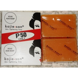 Kojie San Skin Lightening Kojic Acid Soap 2 Bars - 65 gm - NEW!!
