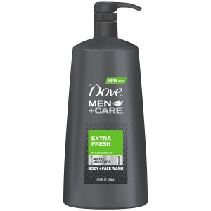 Dove Men + Care Body Wash, Extra Fresh, 23.5 Ounce