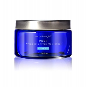 serumtologie PURE Whipped Chiffon Moisturizing Skin Care Cream | Anti Aging Facial Moisturizer | Natural and Organic Lotion for Men and Women | Hypoallergenic | Non Greasy, Oil and Fragrance Free | Best for Normal, Oily, Combination and Sensitive Skin | 4