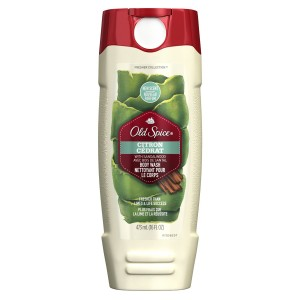 Old Spice Fresher Collection Men's Body Wash, Citron Scent, 16.0 Fluid Ounce