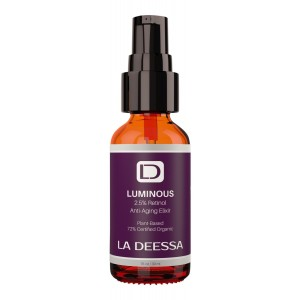 La Deessa Powerful Retinol Serum. Anti Wrinkle, Organic Anti Aging Skin Care Formula for Face, Penetrates Deeply, Improve Cell Turnover, Increase Collagen and Elasticity, Reduce Hyperpigmentation, Fine Lines, Acne, Facial Skin Damage. Repair and Restore S