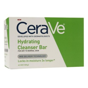 Cerave Hydrating Cleanser Bar For Dry to Normal Skin, 4.5 Oz. (Pack of 2)