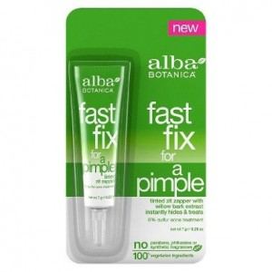 ONLY 1 IN PACK Alba Botanica Fast Fix For A Pimple