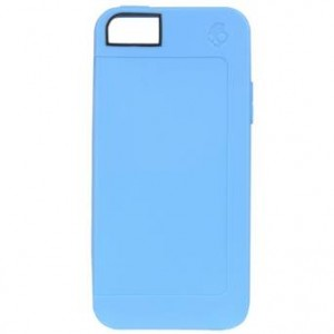 Skullcandy Color Explosion Case for iPhone 5/5S, Cyan (SKDY4005-CYAN)