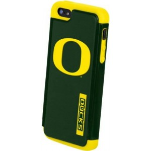 Forever Collectibles NCAA Oregon Ducks Dual Hybrid Hard Apple iPhone 5 / 5S Case