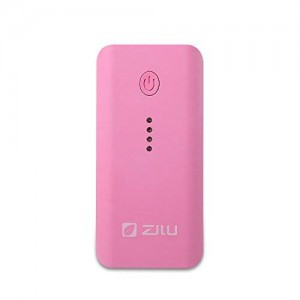 ZILU External Battery Pack for Portable Charger for Smartphones and Tablets - Retail Packaging - Pink