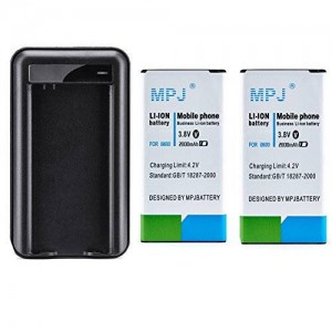 Galaxy S5 Battery, MPJ 2X 2800mAh High Capacity Battery For Samsung Galaxy S5 I9600 SM-G900M, SM-G900A, SM-G900T, SM-G900V, SM-G900R4, SM-G900P, EB-B600 EB-B600BE EB-B600BU With MPJ Travel Charger NFC Compatibility