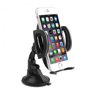 Aukey Universal Smartphone Windshield Dashboard Car Mount Holder Cradle for iPhone