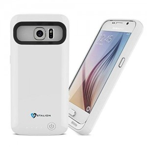Galaxy S6 Battery Case : Stalion Stamina Rechargeable Extended Charging Case
