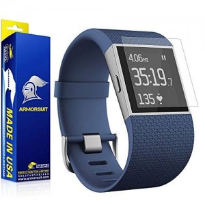 ArmorSuit MilitaryShield - Fitbit Surge Fitness Superwatch Matte Screen Protector (Full Screen Coverage) [2-Pack] Anti-Glare