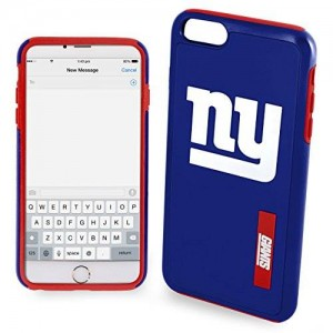 Forever Collectibles NFL Iphone 6 Plus Large Impact Dual Hybrid 2 Piece Phone Cover Case - Pick Team