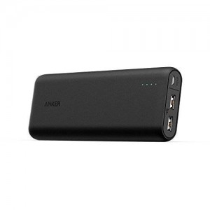 [Most Compact 20000mAh Portable Charger] Anker PowerCore 20100 - Ultra High Capacity Power Bank with Most Powerful 4.8A Output