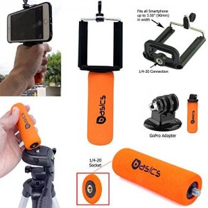 Accessory Basics AccessoryBasics SNAP-II Universal Smartphone Holder Mini Hand Grip Stabilizer with 1