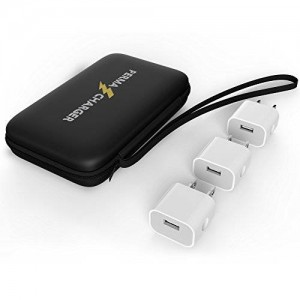 PermaCharger 3-Pack USB Wall Plug