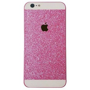 5C Case, Iphone 5C Case, I'EXCEL Luxury Beauty Hybrid Hard PC Shiny Bling Glitter Sparkle Cover Case for iphone 5C (Hard Pink)