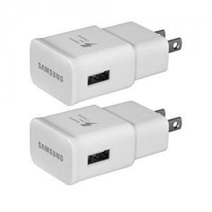 Samsung Wall Charger for Phone or Other Smartphones - Non-Retail Packaging - White