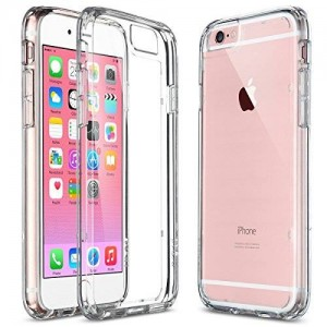 ULAK iPhone 6 Plus Case, [Perfect Fit] Clear Slim [Transparent] Drop Protection with Shock Absorbent [Hybrid PC and TPU Case] Cover for Apple iPhone 6 Plus / 6s Plus - [Crystal Clear]