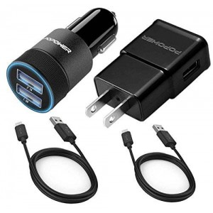 Popower 4 In 1 Travel charger kit
