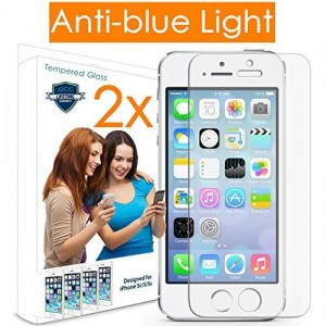 J2CC [2 Pack] Iphone 5S Screen Protector