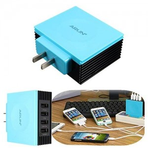 ELEGIANT Intellighte U400 4.2 4-Port Power Supply Charger for Tablet iPad Air iPhone Android Phone 6