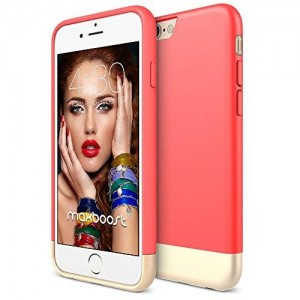 iPhone 6S Case - Maxboost [Coral Series] iPhone 6 6S Case