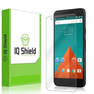 IQ Shield LiQuidSkin - LG Nexus 5X Screen Protector [2015] and Warranty Replacements - HD Ultra Clear Film - Protective Guard - Extremely Smooth