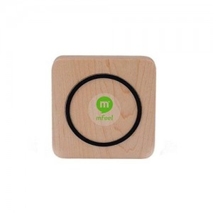 MFEEL Wood Qi Wireless Charging Pad Directly for Samsung S6/ S6 Edge