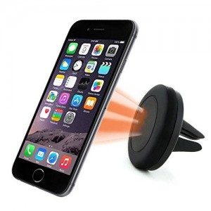 Car Mount, Yoyamo Air Vent Magnetic Car Mount Holder, for Cell Phones and Mini Tablets with Fast Swift-SnapTM Technology, Magnetic Cell Phone Mount