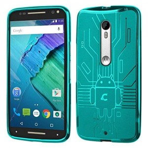 Cruzerlite Cell Phone Case for Moto X Pure - Retail Packaging - Teal