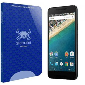 Skinomi Tech Glass - LG Nexus 5X Glass Screen Protector [2015] with Lifetime Replacement