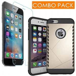 J2CC Iphone 6s Plus Case and Iphone 6s Plus Screen Protector