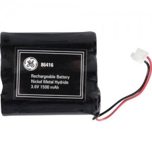 GE 3.6V 1500mAH NiCd Battery for ATandT, Phonemate, GE, and V-tech phones (Discontinued by Manufacturer)