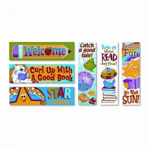 TREND T12907 Bookmark Combo Packs, Reading Fun Variety Pack #2, 2w x 6h, 216/Pack