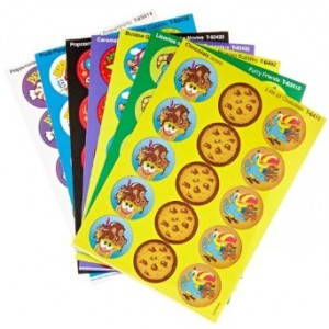 Trend Enterprises Stinky Sticker Colorful Favorites Variety Pack of 300