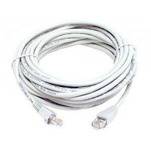 Cables4PC Cat5 RJ45 Patch Ethernet Network Cable (White) (100 Ft)