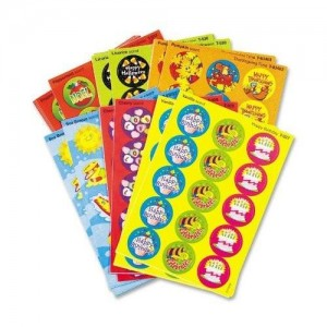 Trend T580 Stinky Stickers Variety Pack, Seasons/Holidays (Pack of 435)
