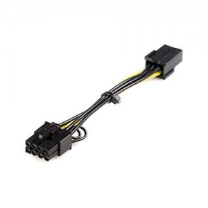 StarTech PCI Express 6 pin to 8 pin Power Adapter Cable (PCIEX68ADAP)