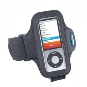 Tune Belt Armband for iPod nano 5th generation (and 4th generation) - use WITH or WITHOUT Nike+ Receiver