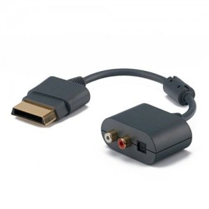 SANOXY HDE Xbox 360 HDMI + Audio Dongle Adapter and Cable
