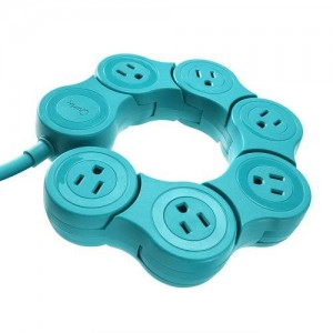 Quirky PPVPP-TL01 Pivot Power POP - Teal
