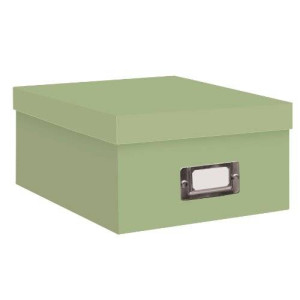 Pioneer Photo Albums Pioneer Photo Storage Boxes, Holds Over 1,100 Photos Up To 4-6 Inches Photo Album-Sage Green