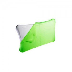 iShoppingdeals Skque Green Silicone Skin Case for Nintendo Wii Fit