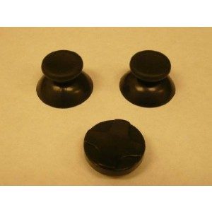 Microsoft Xbox 360 Thumbsticks/joysticks Black