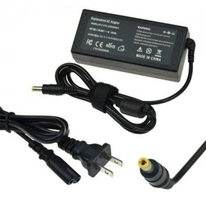 Replacement LCD 48W 12V 4A 5.5*2.5 2-Prong US AC adapter and power cord