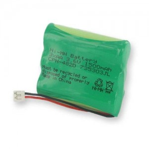 EMPIRE GE 2-7923 Cordless Phone Battery Ni-MH 1X3AA/D, 3.6 Volt, 1500 mAh - Ultra Hi-Capacity - Replacement for Rechargeable Battery