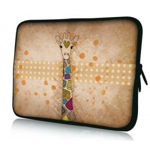 Colorfulbags Universal Giraffe 11.6 12 12.1 12.2 inches Laptop Neoprene Soft Bag Computer Sleeve Cover Case Pouch For 11.6""